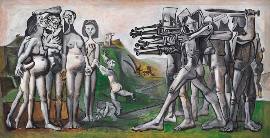 Picasso et la guerre : une exposition au Musée de l'Armée - Invalides à Paris 0itht