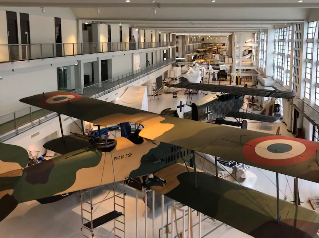 Air & Espace : le Musée du Bourget réouvre sa Grande Galerie Vzmvj